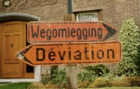wegomlegging